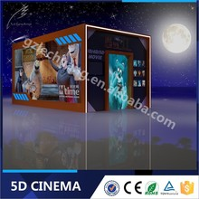 Great Fun Hydraulic/Electronic Amusement Park Equipment 5D Cinema House Discount