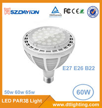 CE 60w par38 led spotlight E27 par38 led spot light par38 lamp for indoor