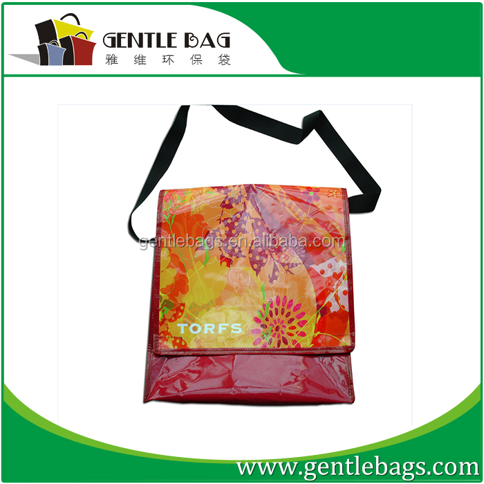 pp woven luggages waterproof moving bag
