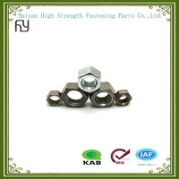 Galvanized stainless steel hex nut with high quality made in China
