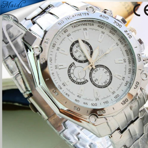 Hot selling good quality stainless steel man watch. Fashion quartz man watch cheap price wholesale 2015
