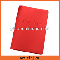 2016 fashion silicone passport skin
