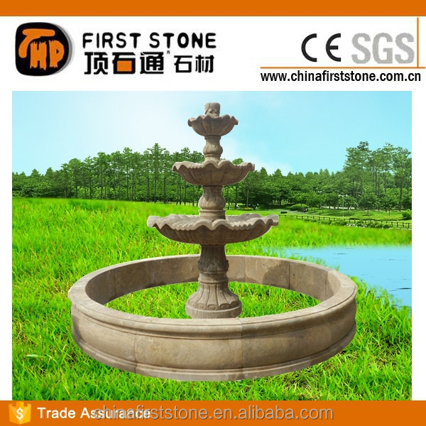 MAF396 Antique Stone Garden Fountain For Sale