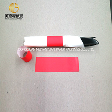 Factory custom red paper napkin bands with different logo from China