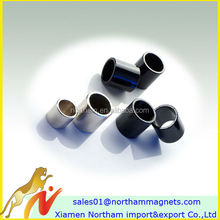 north/south poled ring magnets