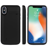 Long life External mobile Phone Battery Charger Case For Iphone x