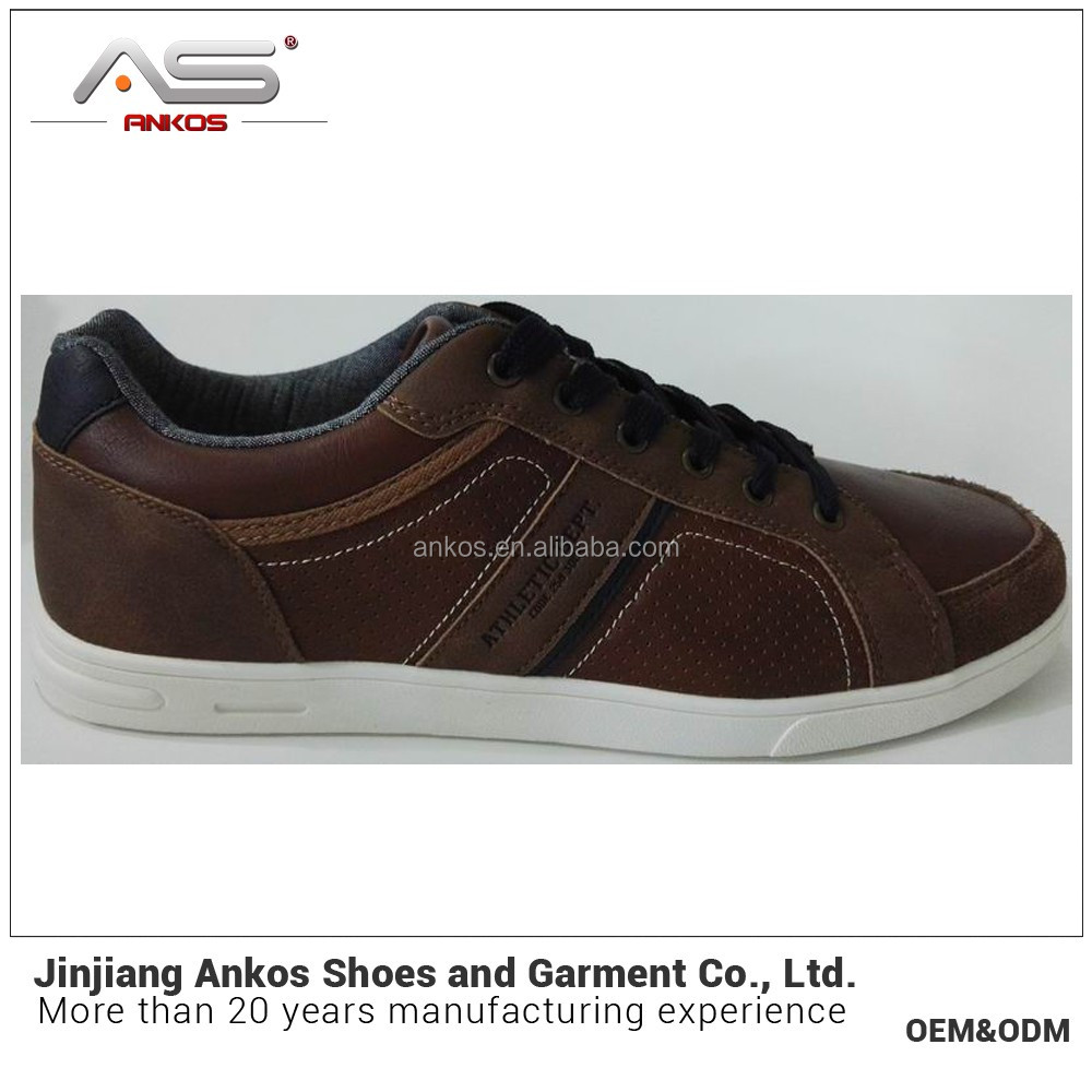 new arrival male sneaker shoe with soft sole anko shoe factory