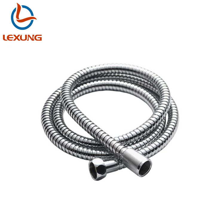 LEXUNG R-01 Hot Stainless Steel Flexible Brass Fittings Shower Hose