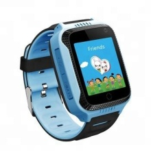 Latest design hot sell android silicone wristband strap kids gps touch screen watch smart mobile phone