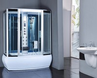 SUNZOOM corner shower cubicle, luxury bathroom shower cabin