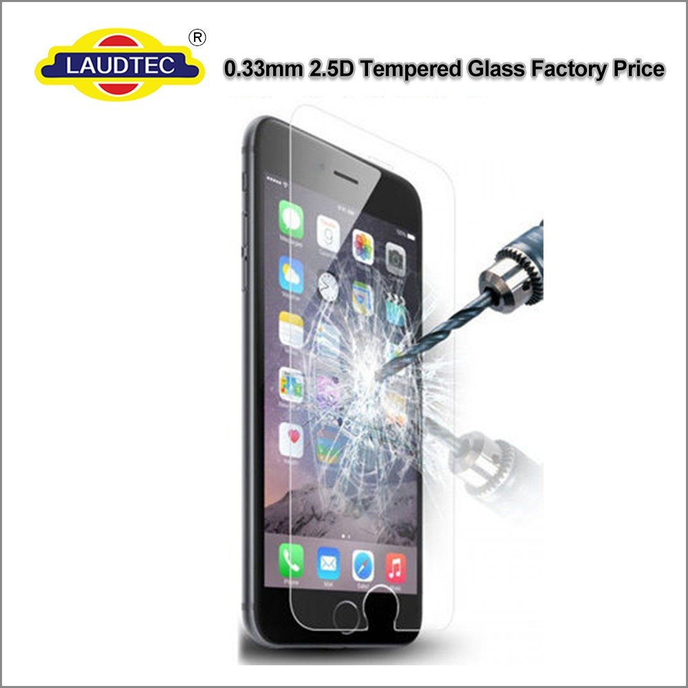 For iphone 7 screen protector tempered glass film Laudtec high quality glass