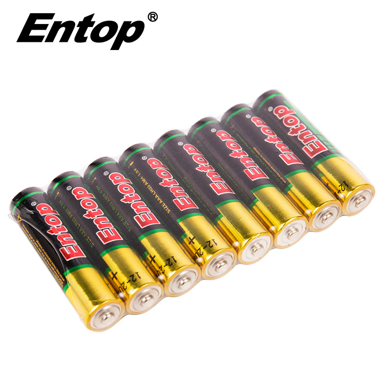 High Quality 1.5V 1400mAh AAA LR03 Alkaline Battery