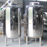 2015 New type hot selling round shape stainless steel water tank