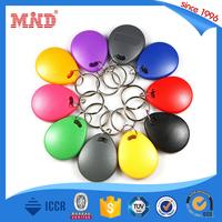 MDK72 Customized 125KHz T5577 plastic rfid key fobs