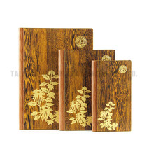 China supplier custom size wood cover school year planner