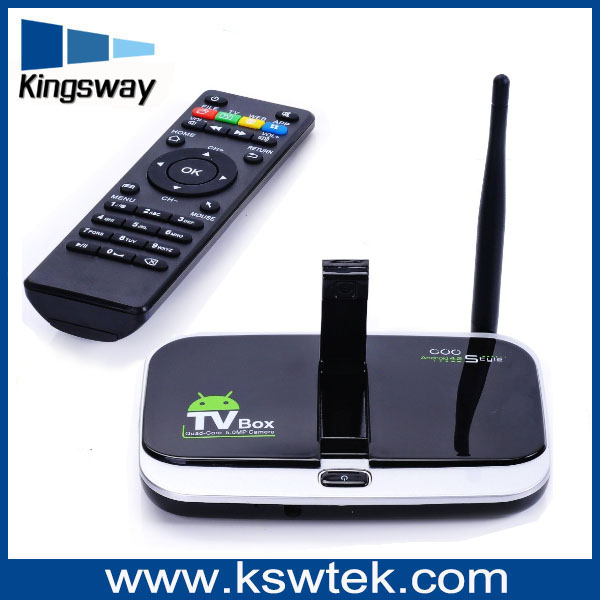 CS918S 4K*2K Quad Core Android 4.2.2 Smart TV Box Miracast, XBMC, Airplay, DLNA HDMI Media Player