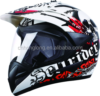 Motocross helmet with Visor,ECE & DOT Homologation Standard helmet,good quality