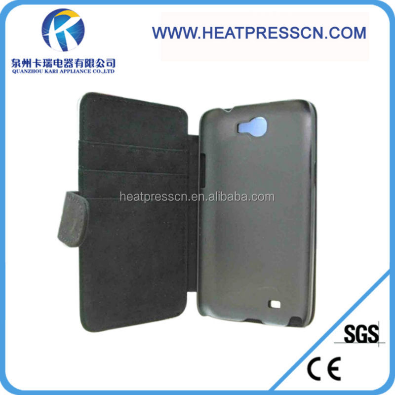 sublimation leather Foldable phone Case for IPHONE 5C