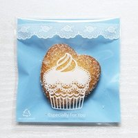 Cellophane Bag Cookie Blue Muffin