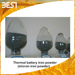 Best10R national iron price of thermal battery iron powder