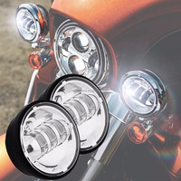 "4 1/2 inch Harley Fog Light , 4.5 "" LED auxiliary LED motorcycle driving lights For Harley Motorcycle models"