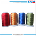 Pajama embroidery use eco-friendly polyester thread 120D/2