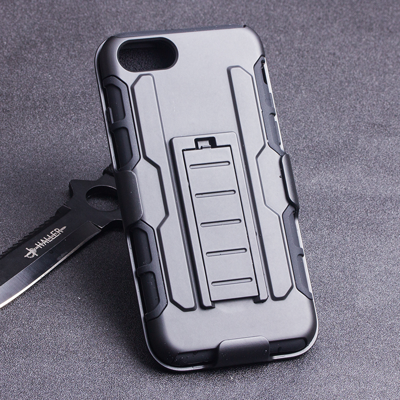 For Iphone 7 Case, OEM TPU PC Slim Fit Armor Hybrid Mobile Phone case for Iphone 4 5 5SE 6S 7 7 Plus