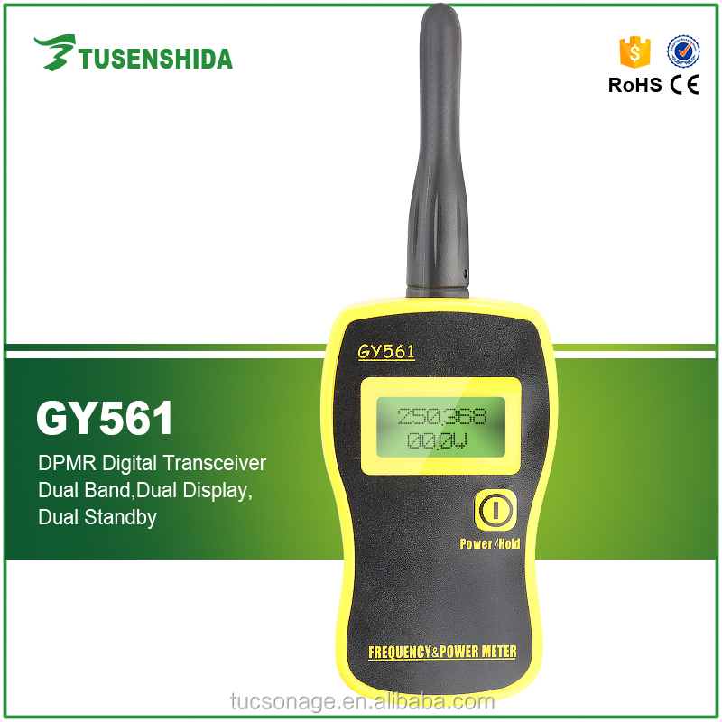 Radio Frequency Power Meter : Two way radio handheld frequency power meter counter