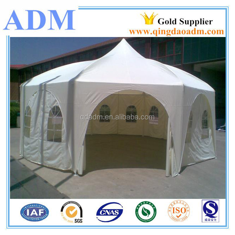 6X6 PVC Pagoda Tents with Peak Top