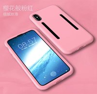 Various Colors Solid Silicone Phone Cases phone case for iPhone X