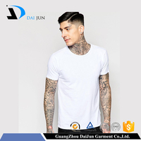 Daijun oem cheap o neck breathable quick dry custom printing cotton t shirt