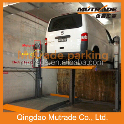 outdoor wireless parking system Two Post Car parking Lift Hydro-Park 1127