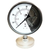 Safety Gauge Polypropylene Case Stainless Steel Pressure Gauge Explosion Proof