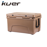 Kuer 45QT food transport Insulated rotomolded ice chest