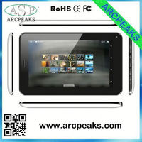 7 inch built-in gps 3g wifi tablet pc