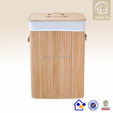 Folding Laundry Basket commercial laundry products with a lid and lining