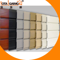 Warehouse Equipment PVC Interior Garage Slat Wall Panel