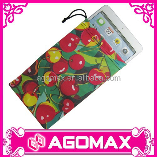 Hot sales popular gift reusable microfiber pouch for ipad