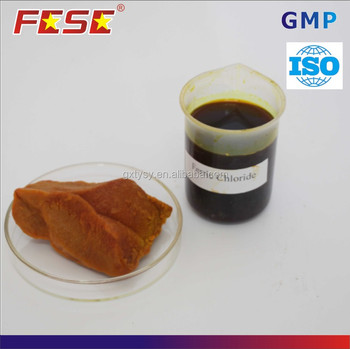 Good efficitives Ferric Chloride Fe3Cl 40% liquid for sewage treatment