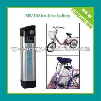 Long lifecycle electric bike battery LiFePO4 36V 10Ah