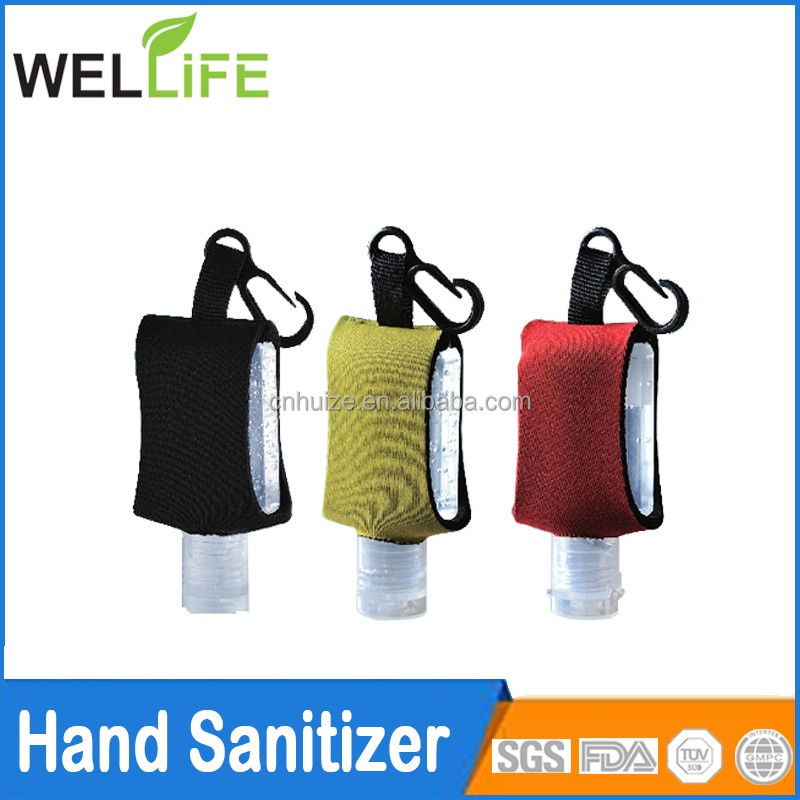 factory wholesale promotional Hand Sanitizer With Neoprene Holder