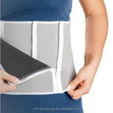 Fat burning and heating cheap slim waist belt slim fit belt With Adjustable Zipper Closure To Fit Most Waist Sizes
