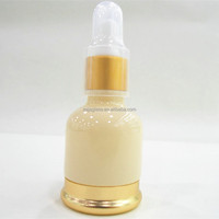 New Cosmetic Packaging Glass Dropper Bottle 1oz Color Coating