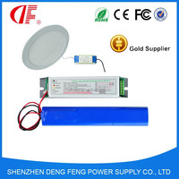 Rechargeable long lasting LED emergency module with emergency battery for 22W 3 hours duration used by Led light