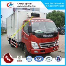 Foton cooling van truck,reefer container trucks
