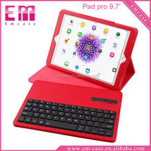 Detachable Bluetooth Keyboard Stand Leather Case For iPad Pro 9.7 Keyboard Case