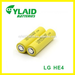 battery terminal LG HE418650 rechargeable 2500mAh power bank batteries18650 dry battery