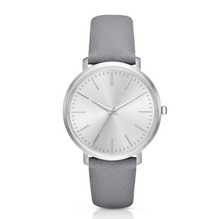 Simple style leather watches women ,vogue wrist watches waterproof and custom logo
