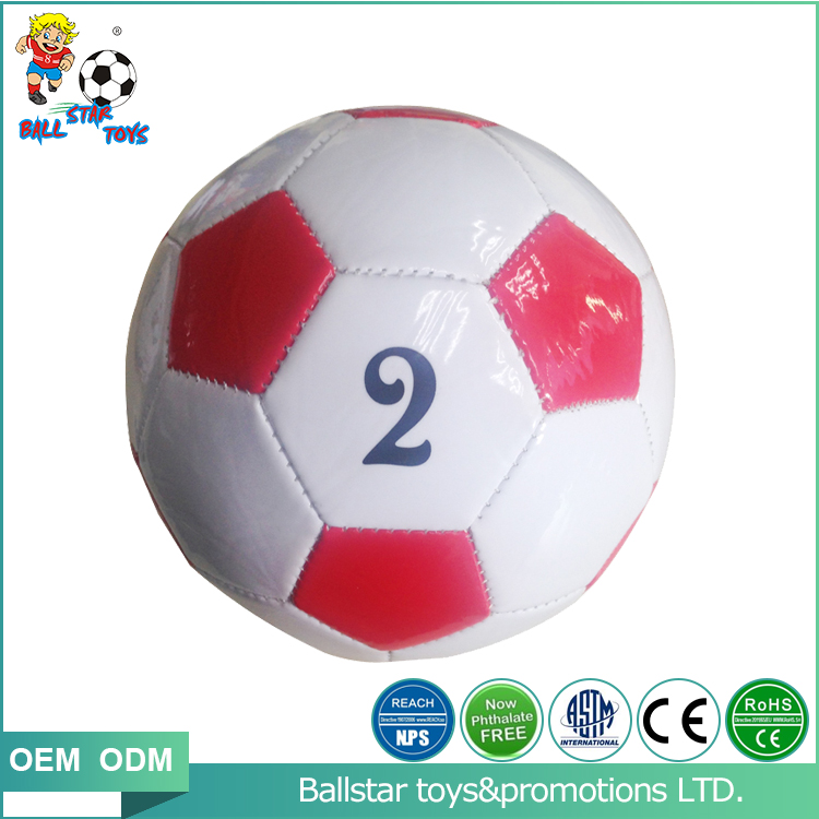 Guangzhou Latest Design Cheap size 2 soccer ball /Inflatable ball PVC leather <strong>football</strong> for kids