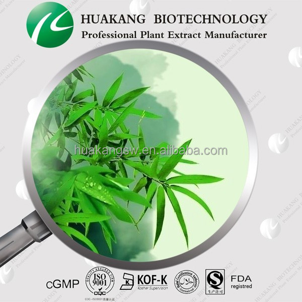 Best Price GMP&ISO Bamboo leaf Extract